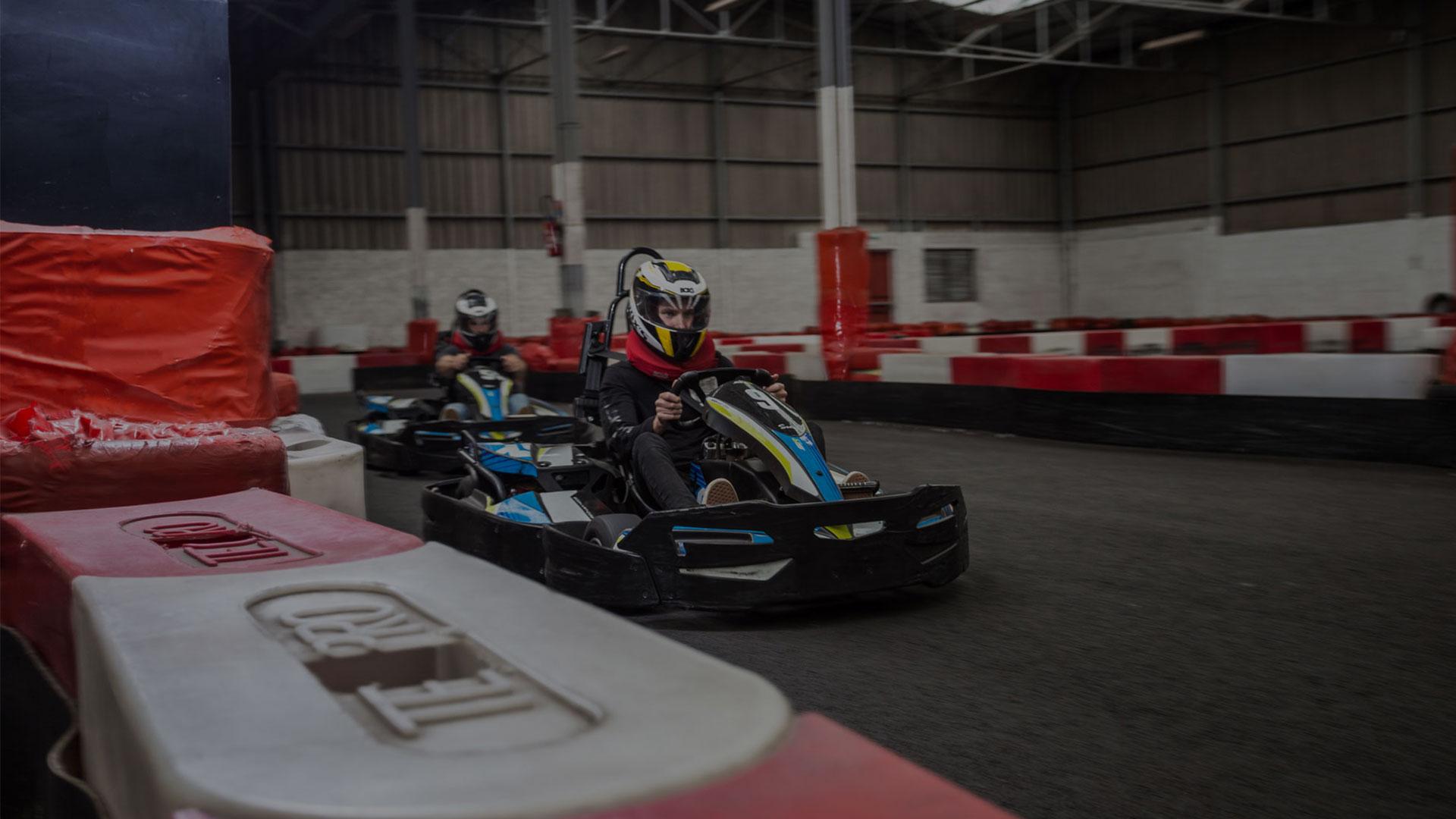 Kart West Laser Game Quimper