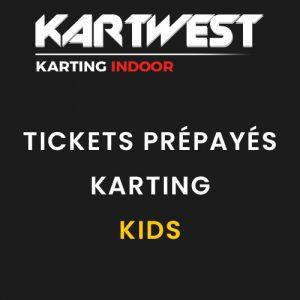 Kart West - Tickets Prépayés Karting Enfant - Quimper